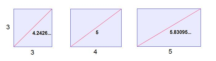 how to find lengths of diagonals