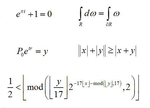 Hardest Math Equation Most beautiful equation?�