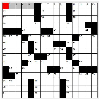 Printable Easy Crossword Puzzles: Free Printable Crossword Puzzles