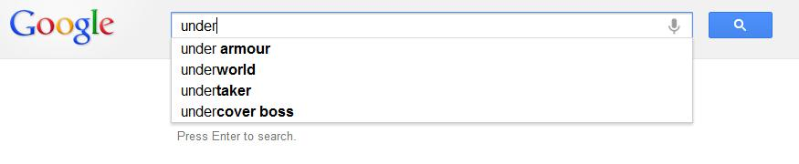 how to make google search with manadatory word